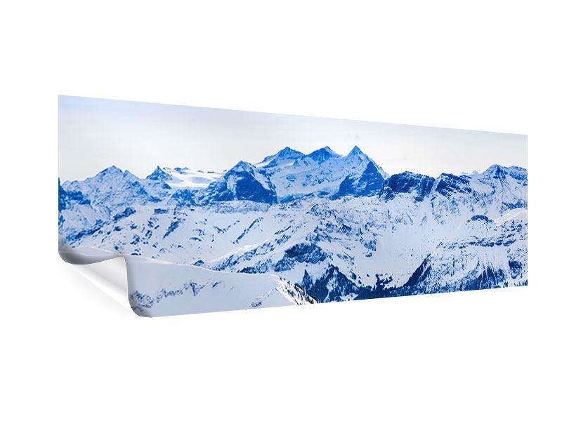 Poster Panorama Die Schweizer Alpen
