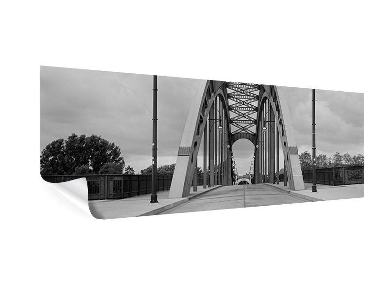 Poster Panorama Poetische Brücke