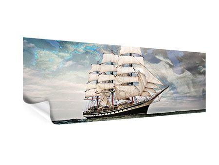 Poster Panorama Segelschiff