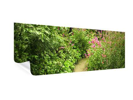 Poster Panorama Gartenweg