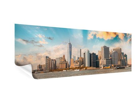 Poster Panorama Skyline New York from the other Side