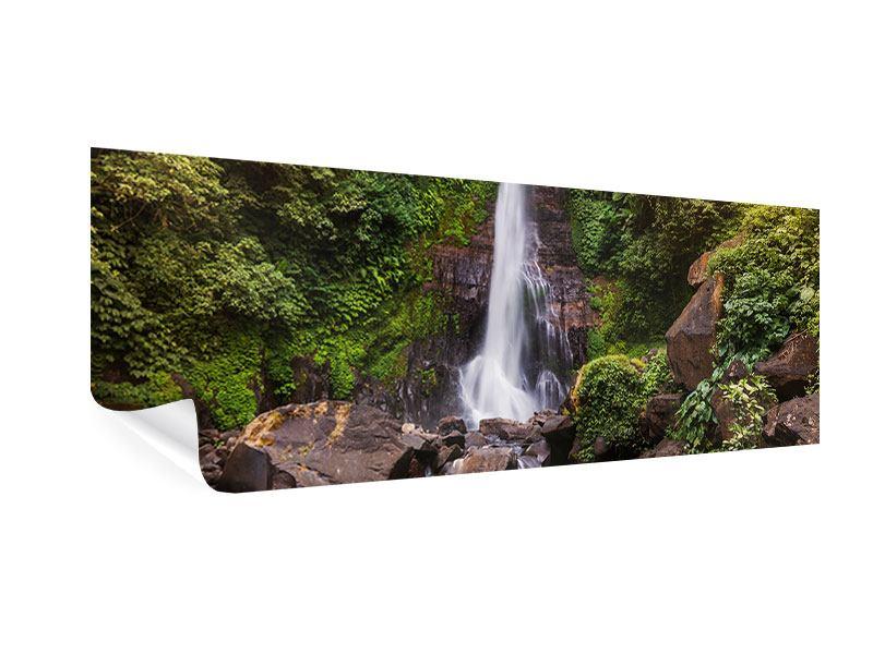 Poster Panorama Wasserfall Bali