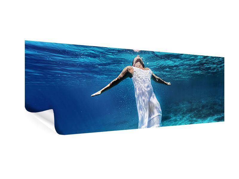 Poster Panorama Schönheit unter Wasser