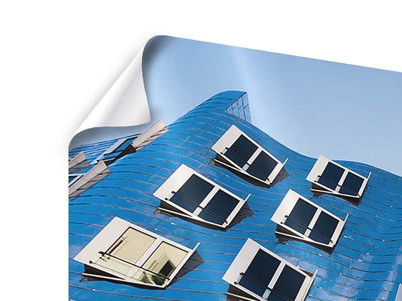Poster Panorama Neuer Zollhof
