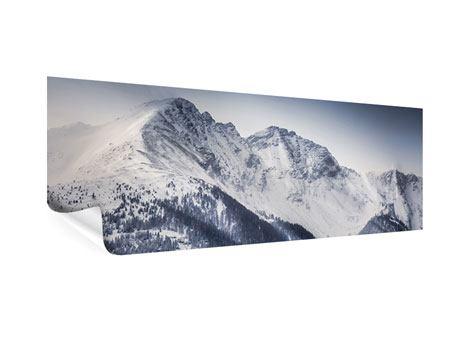 Poster Panorama Die Berge der Schweiz