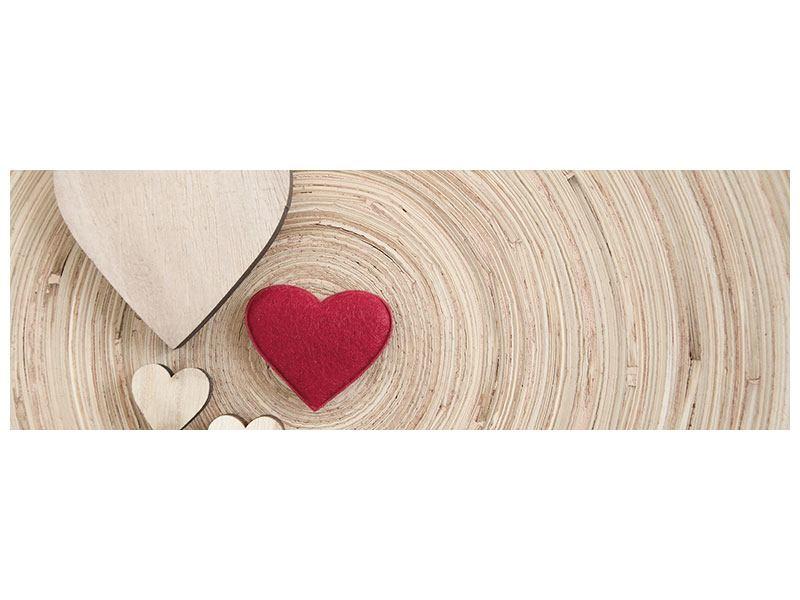 Poster Panorama Herzen