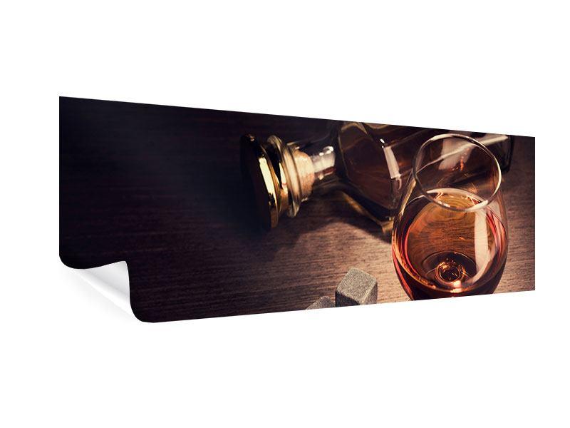 Poster Panorama Ein Glas Cognac