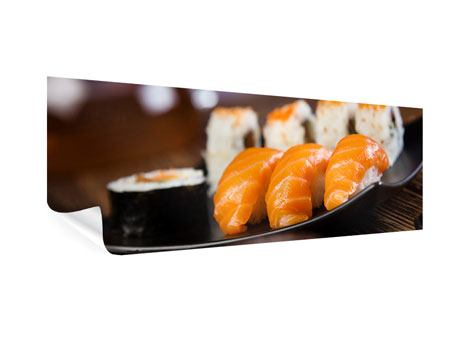 Poster Panorama Sushi-Gericht
