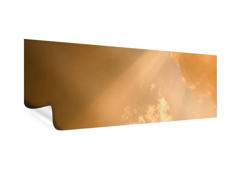 Poster Panorama Abendhimmel