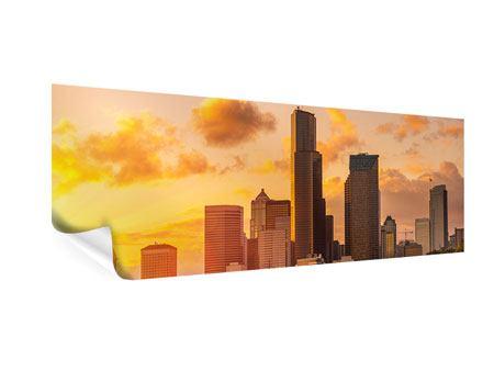 Poster Panorama Skyline Washington