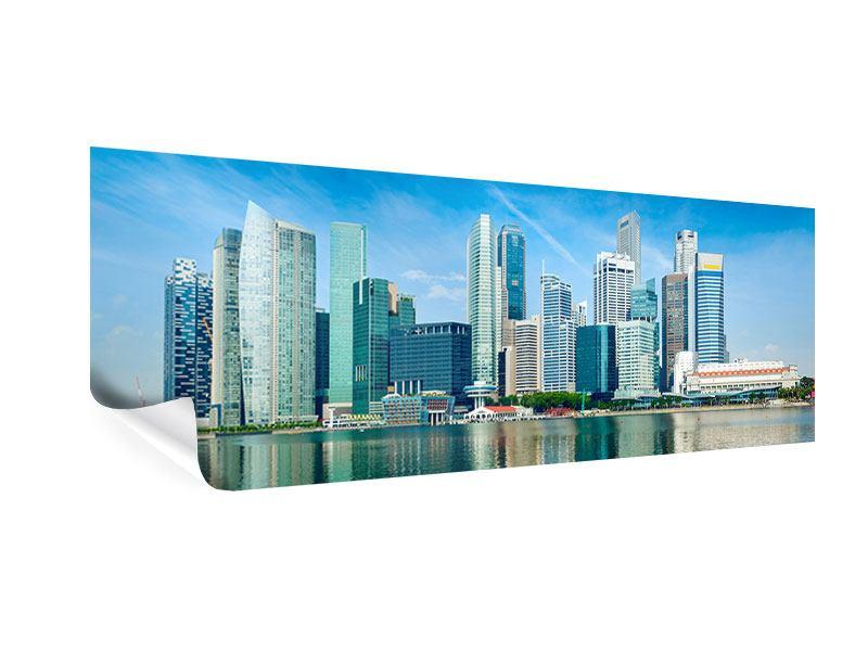 Poster Panorama Skyline Mexiko-Stadt