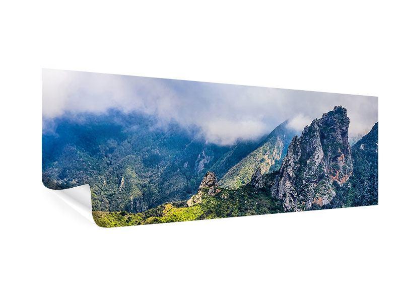 Poster Panorama Der stille Berg