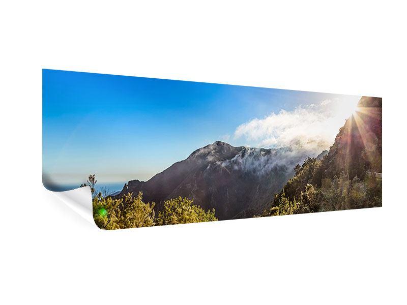 Poster Panorama Berge am Meer