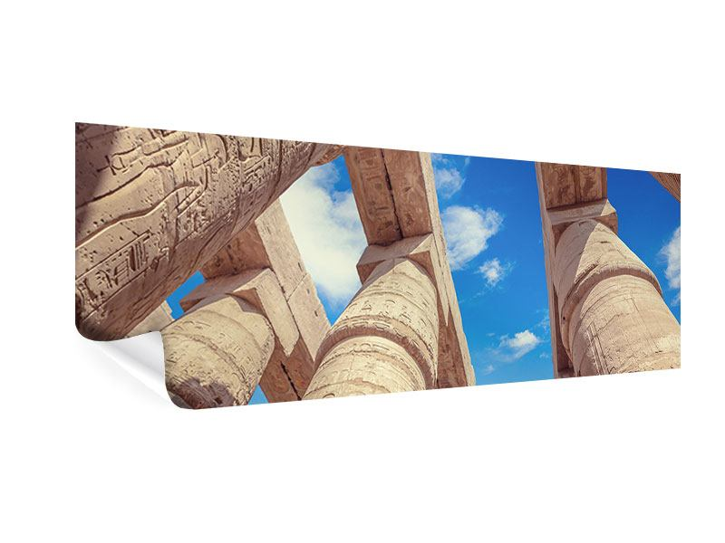 Poster Panorama Tempelsäulen