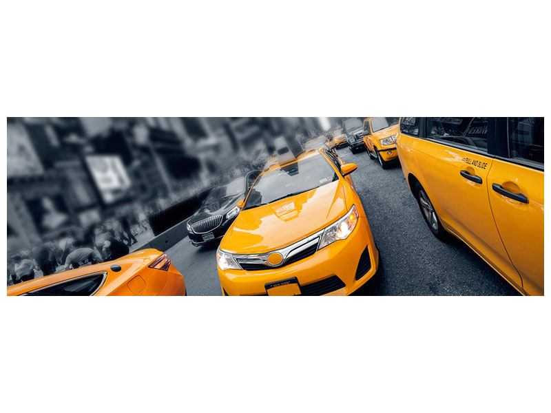 Poster Panorama Taxi in NYC
