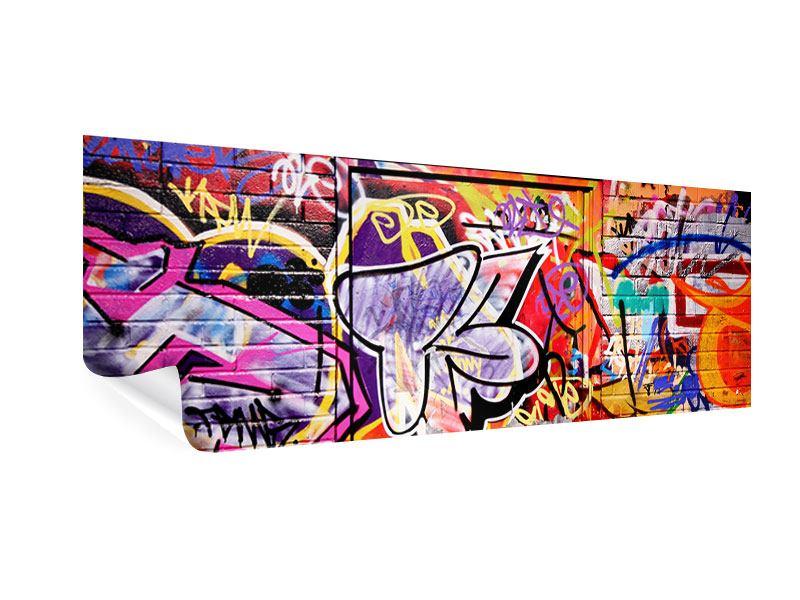 Poster Panorama Graffiti Kunst