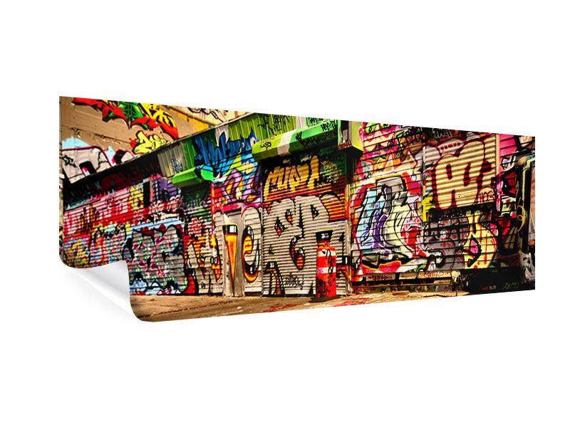 Poster Panorama NY Graffiti