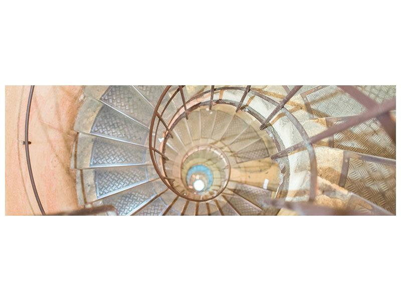 Poster Panorama Wendeltreppe