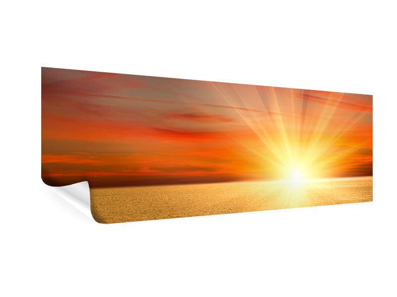 Poster Panorama Der Sonnenuntergang