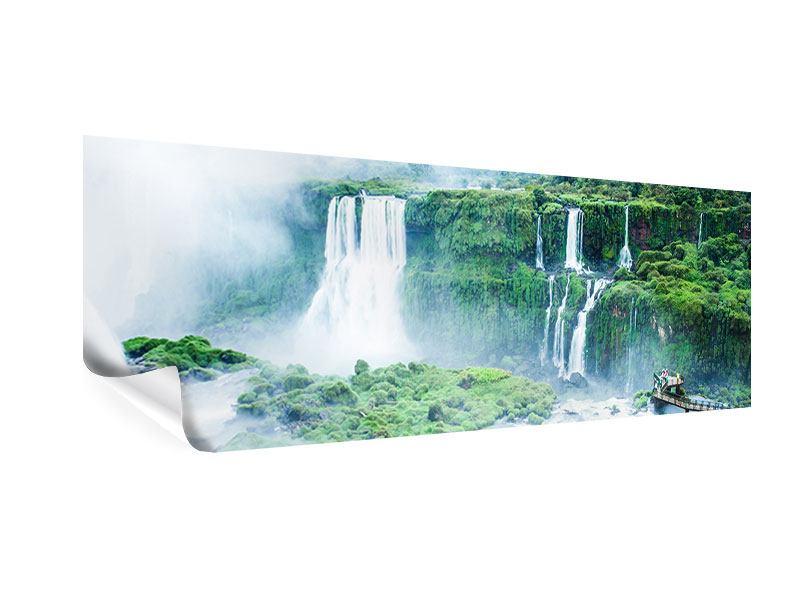 Poster Panorama Wasserfälle