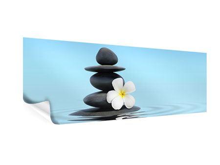 Poster Panorama Zen Steine