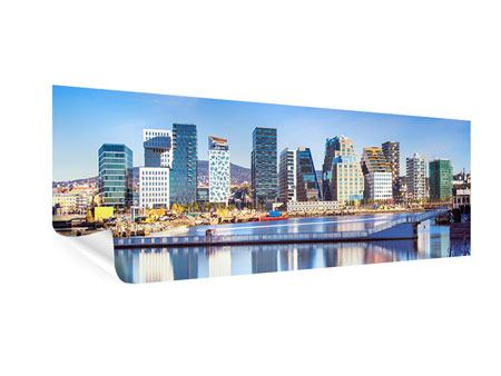 Poster Panorama Skyline Oslo