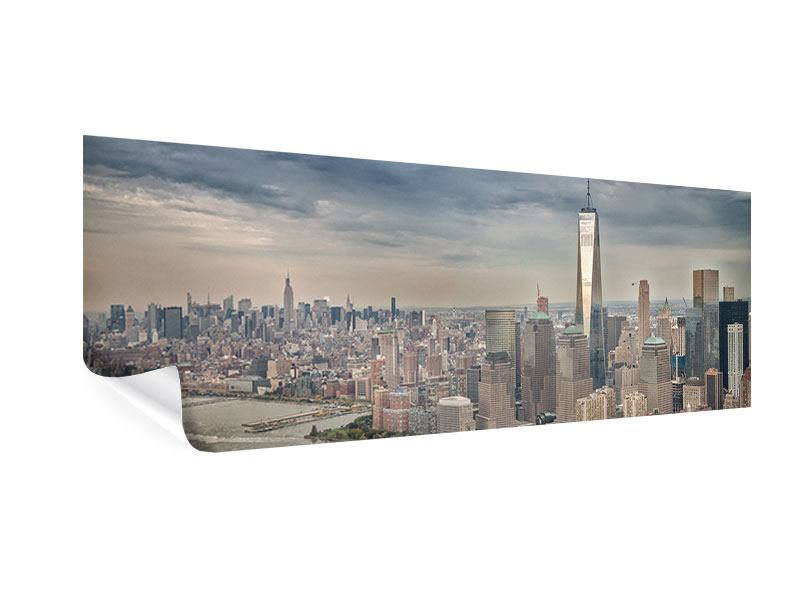 Poster Panorama Skyline Manhattan