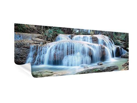 Poster Panorama Ein Wasserfall