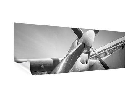 Poster Panorama Nostalgisches Flugzeug