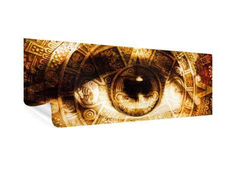 Poster Panorama Fraktales Auge