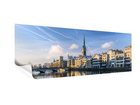 Poster Panorama Zürich