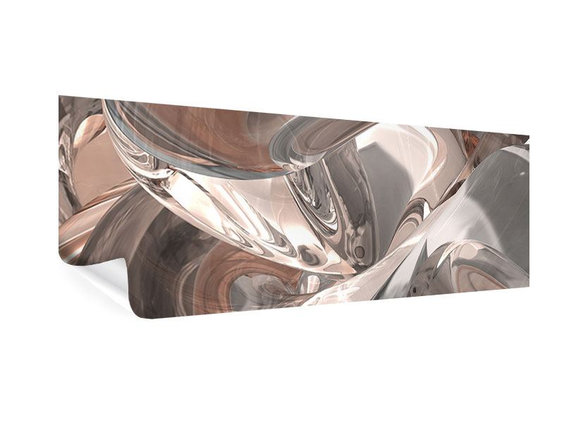 Poster Panorama Abstraktes Glasfliessen