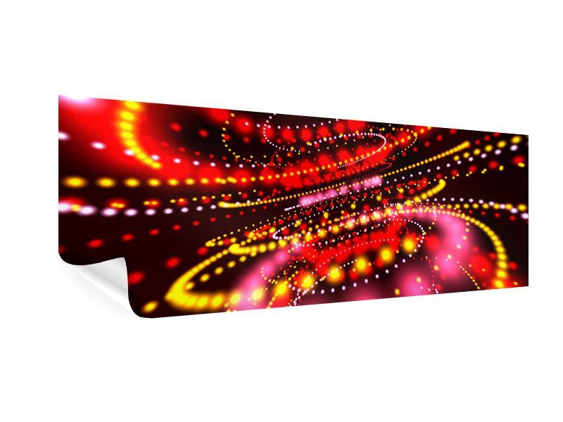 Poster Panorama Abstraktes Lichtspiel
