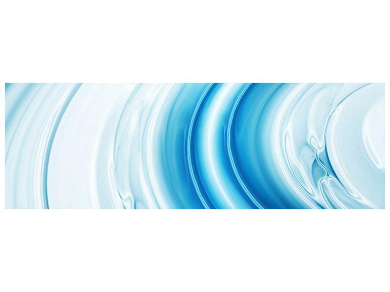 Poster Panorama Abstraktes Glas