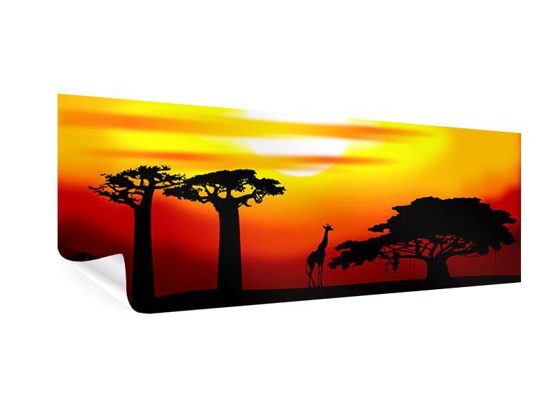 Poster Panorama Faszination Afrika