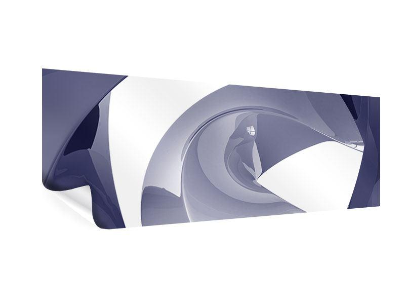 Poster Panorama Abstrakte Schwingungen