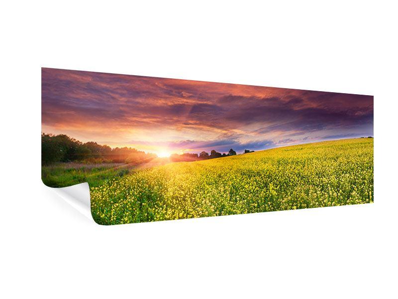 Poster Panorama Abenddämmerung