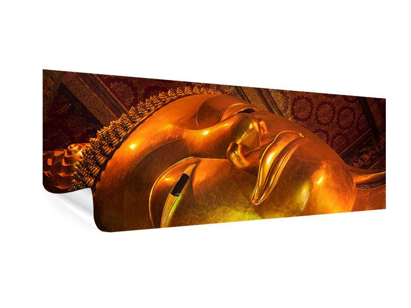 Poster Panorama Liegender Buddha