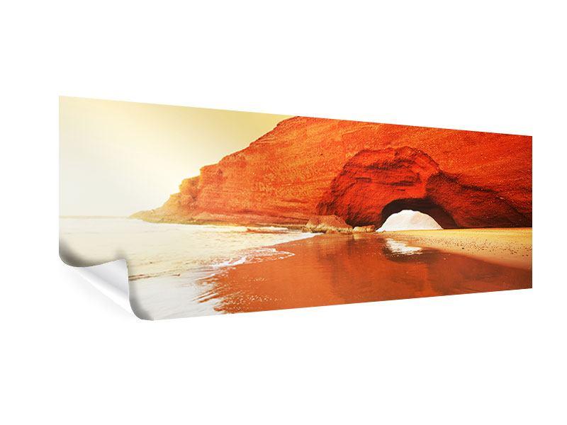 Poster Panorama Wasserspiegelung