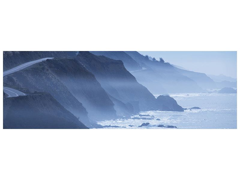Poster Panorama Bewegung im Wasser