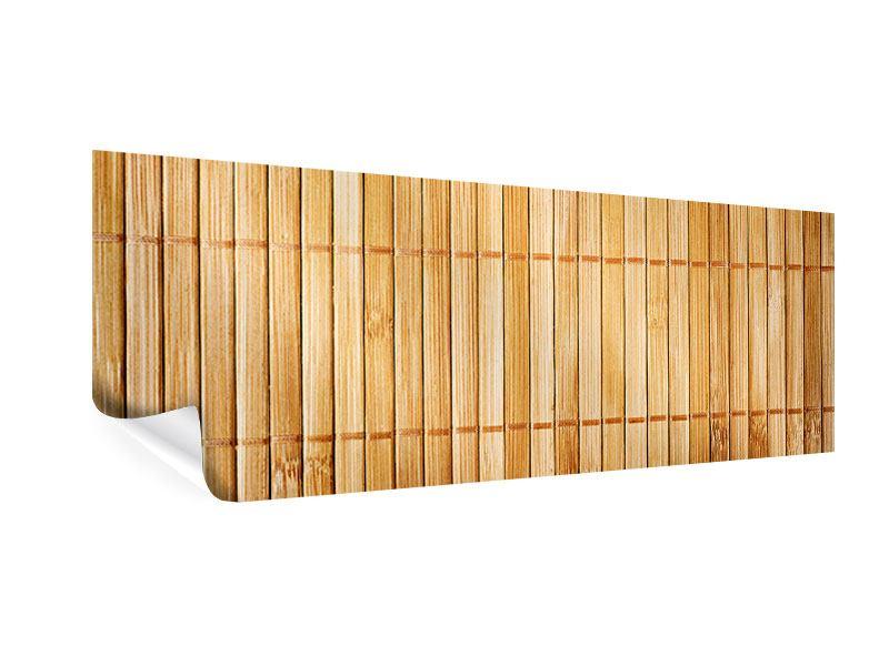 Poster Panorama Bambusrohre