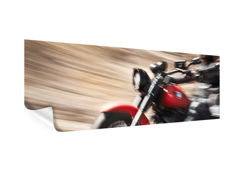 Poster Panorama Biker