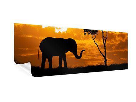 Poster Panorama Verträumtes Afrika