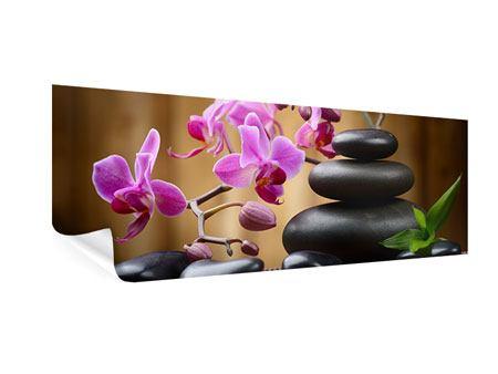 Poster Panorama Wellness-Steine