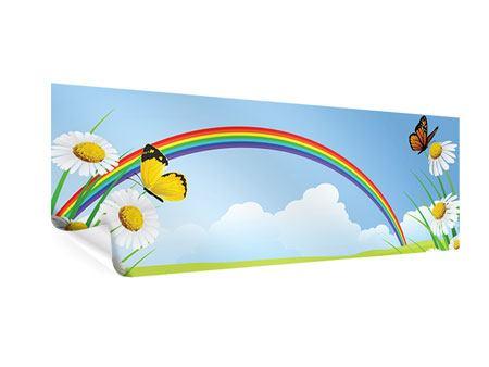 Poster Panorama Der bunte Regenbogen