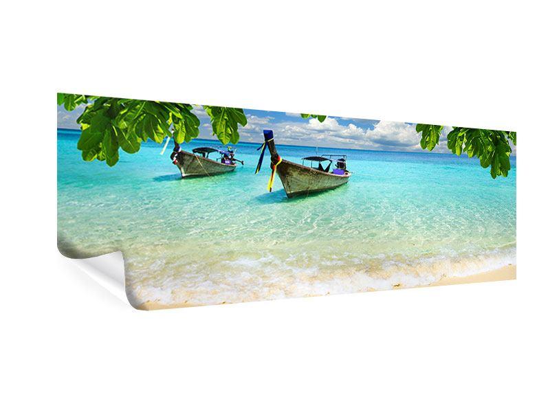 Poster Panorama Ein Blick auf das Meer