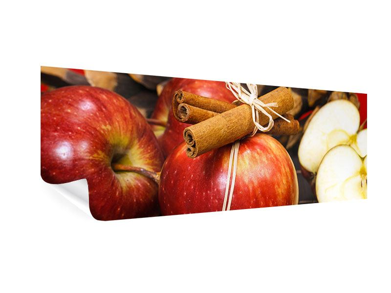 Poster Panorama Äpfel