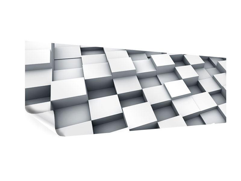 Poster Panorama 3D-Kubus