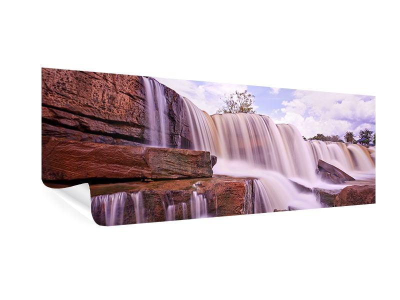 Poster Panorama Himmlischer Wasserfall