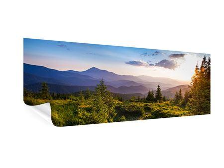 Poster Panorama Friedliche Landschaft